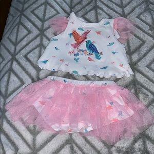 Babygirl Shirt & skirt